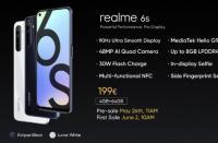 Realme 6S与联发科Helio G90T正式发布