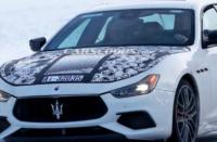2021年玛莎拉蒂吉卜力混合动力车被取笑 将激发该品牌的电气化