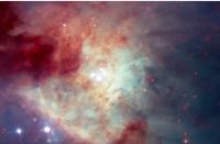 科技资讯看点:哈勃斑点在Kleinmann-Low星云中快速移动的失控之星