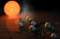 科技资讯看点:TRAPPIST-1系统是跳跃生命的理想选择